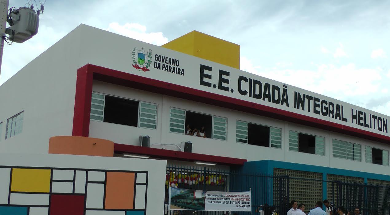 Resultado de imagem para fotos de escolas integrais da paraiba