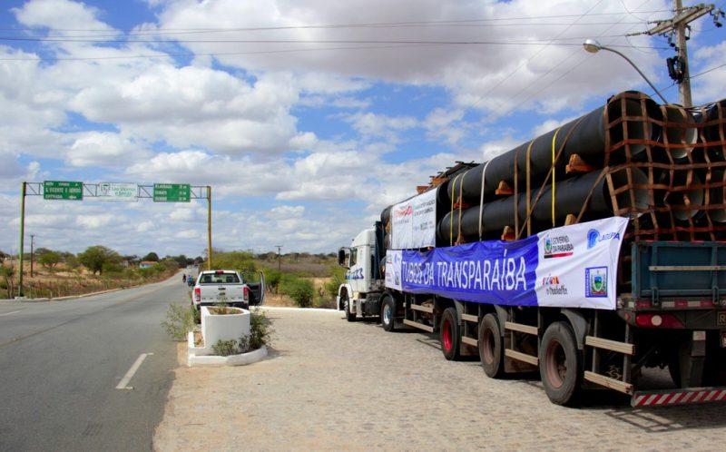 TransParaíba: bando furta quase 500 tubos e causa prejuízo de R$ 1,4 mi