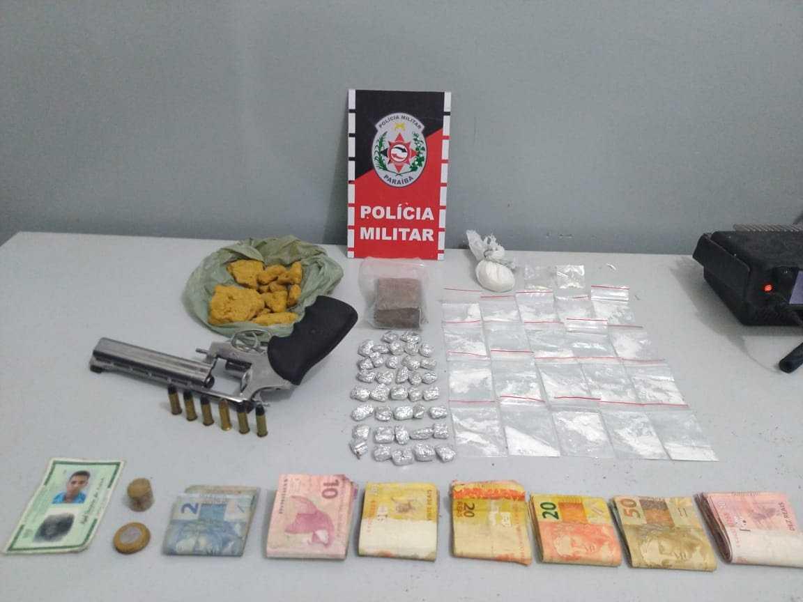 BAYEUX: arma e drogas são apreendidas em mais uma ação contra o tráfico - PB AGORA - PBAGORA - A Paraíba o tempo todo