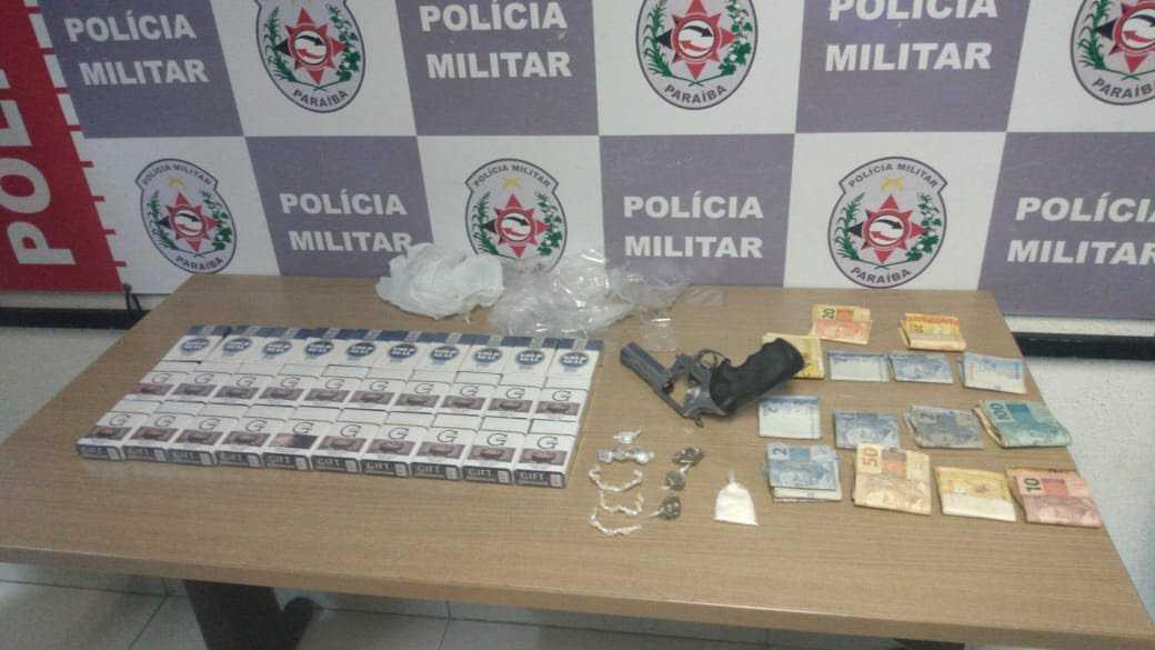 PM apreende arma e drogas durante ação entre Bayeux e JP - PB AGORA - PBAGORA - A Paraíba o tempo todo