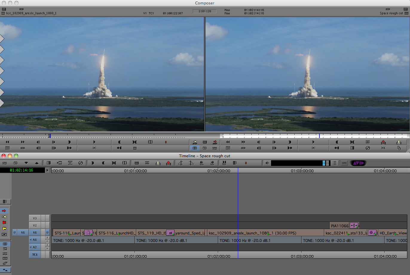 Performing Match Frame Commands in Avid Media Composer and Final Cut ...