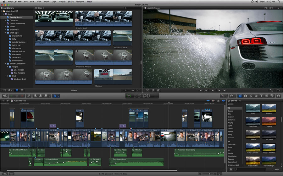 Final Cut Pro X: New Features, Great Tools and Much