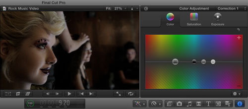 FCPX Color Correction Tip: Using Adjustment Presets To Give