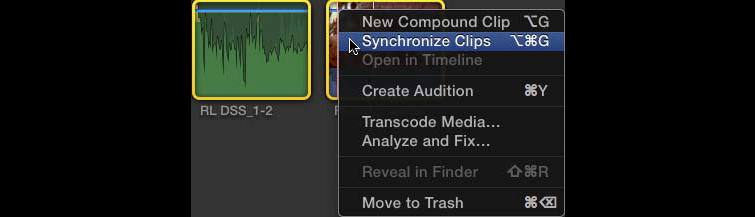 Sync Clips