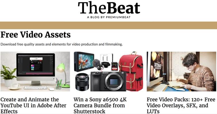 FREE Online Stock Video Sites! - PremiumBeat