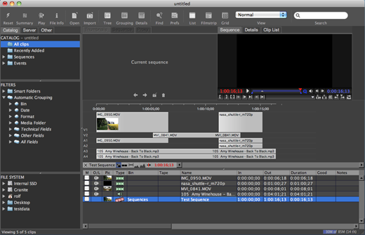 CatDV Supports Translating Final Cut Pro Projects from FCP7