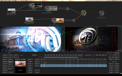 Autodesk Smoke 2013 Video Editing Update