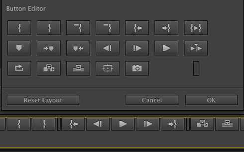 Adobe Premiere New Button Editor