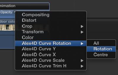 Alex4D FCPX Curves