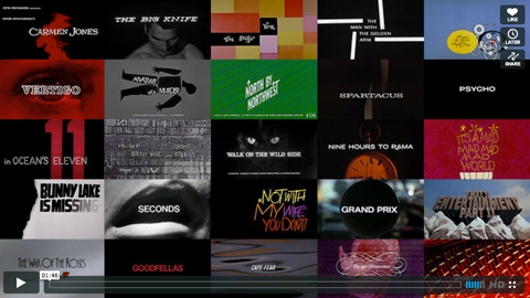 Saul Bass Titles