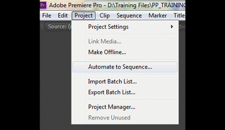 Premiere-Pro-Automate-to-Sequence-Project-Menu-Option1