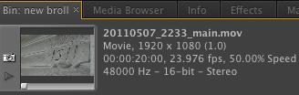 Clip Speed Adobe Premiere Pro