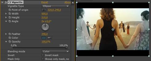Premiere Pro Vignette Plugin