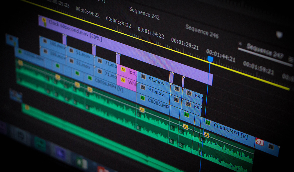 Organizing Your Premiere Pro Project