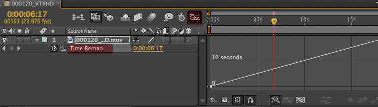 Speed Ramps & Freeze Frames in After Effects: Time Remap Graph Editor