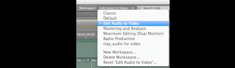 Edit Audio to Video