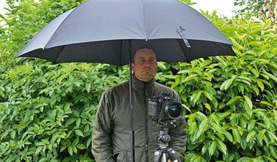 Cool DIY Project: Tripod Umbrella Holder