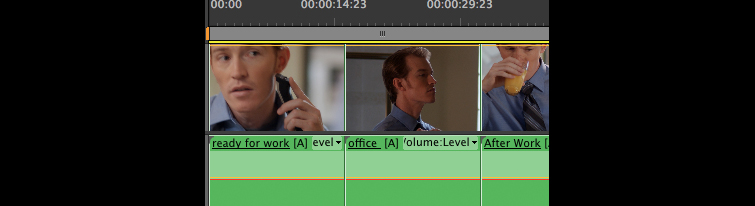 Nesting in Premiere Pro: Nested All Together