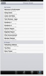 Pro Prompter App