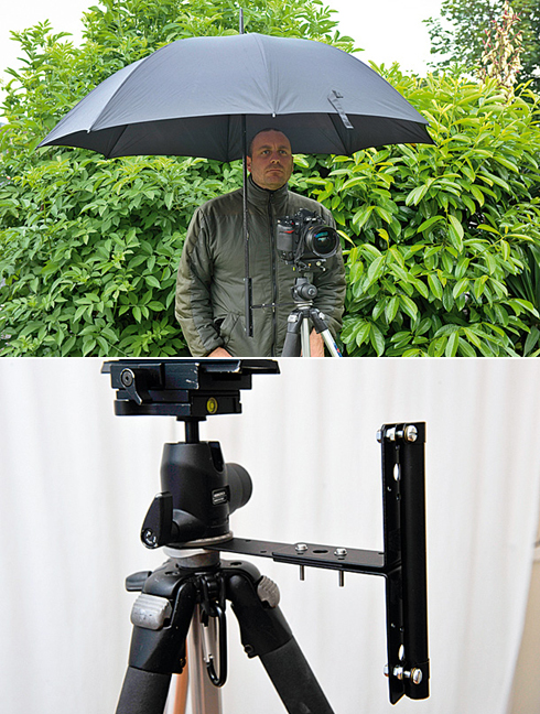 Umbrella Tripod Holder