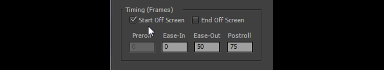 Typical Title Roll Choices