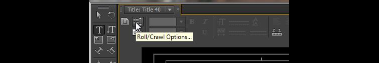 Roll Crawl Options