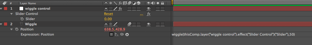 Using Wiggle to Create Random Movement in After Effects