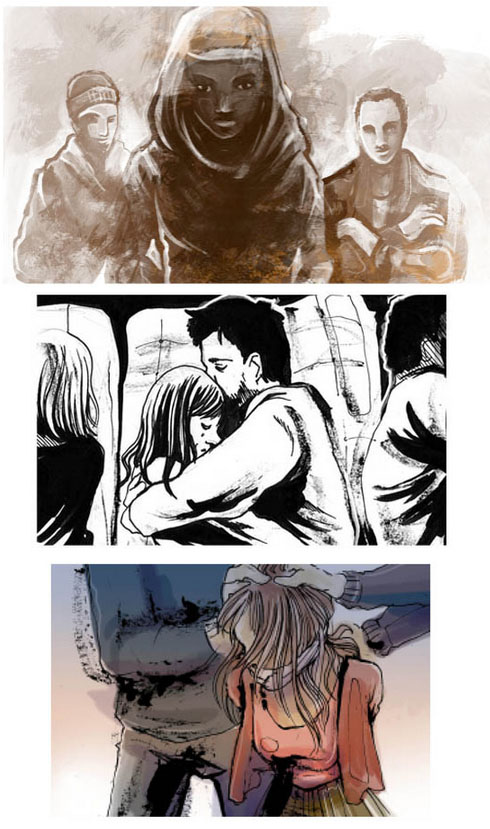 Feature Film Storyboard