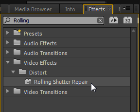 How to Repair Rolling Shutter in Adobe Premiere Pro - The Beat: A