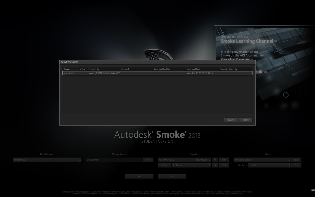 Autodesk Smoke 5