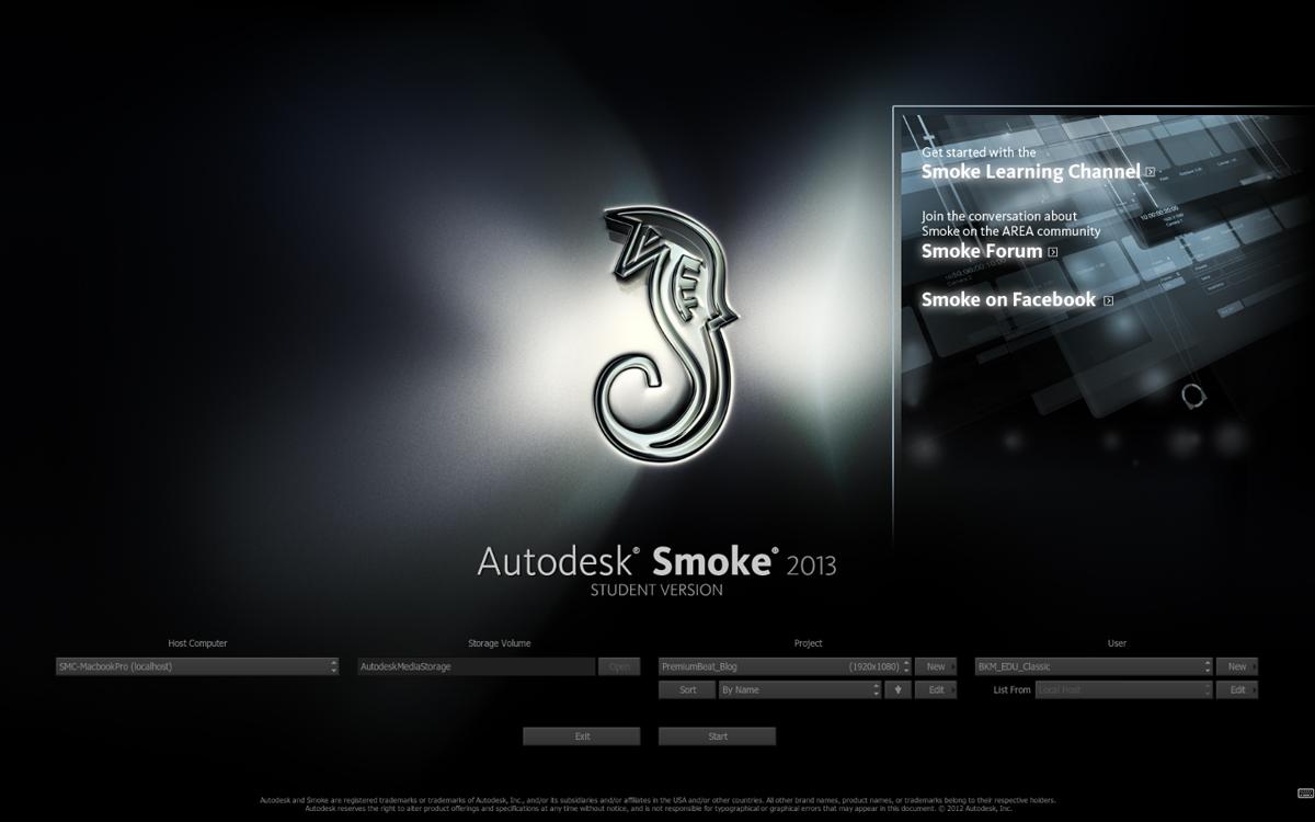 Autodesk Smoke 1