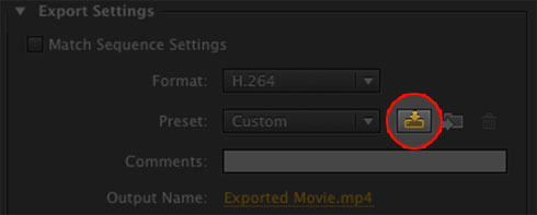Premiere-Pro-export-sequence-preset