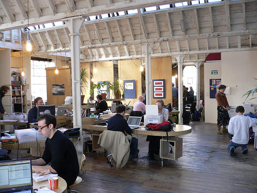 creative work spaces in london