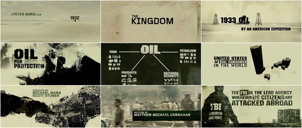 The Kingdom - Great title sequences