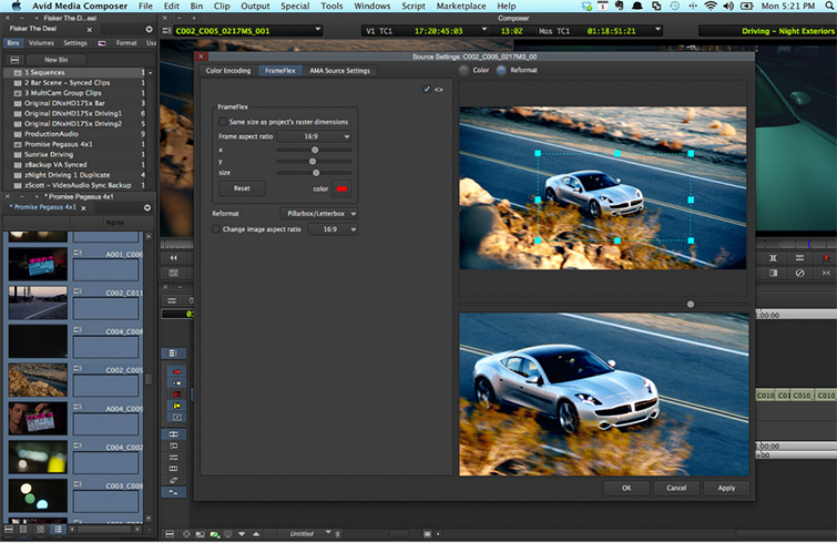 Video Editing Apps: Premiere Pro vs Final Cut Pro X vs Media Composer - Media Composer Interface