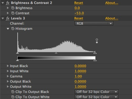 32 Bit Contrast Crunch Correction Adjustments