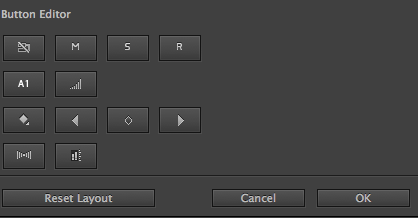Button Editor Audio Header