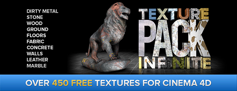 Cinema 4D Texture Pack