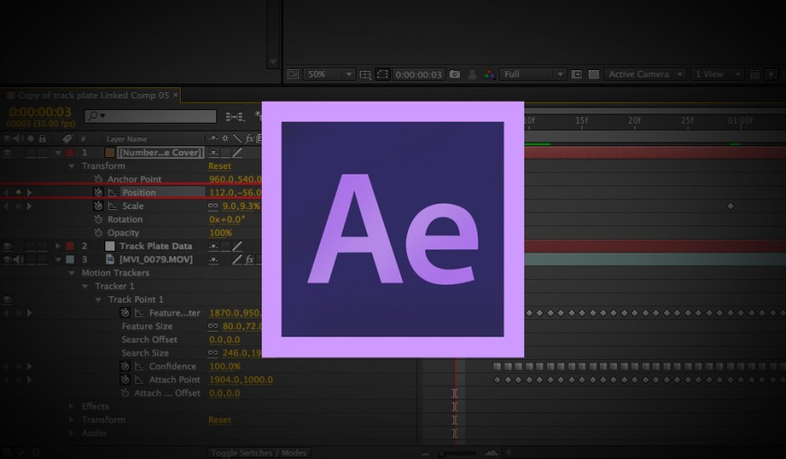 Killer Tutorial For Creating Kinetic Typography In After Effects - Timeline after effects template
