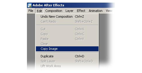 Copy Image Plugin After Effects