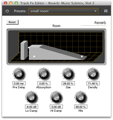 Reverb UI