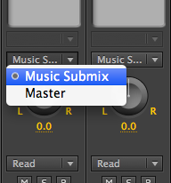 Submix Routing
