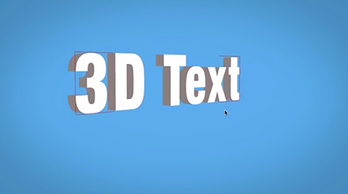 3D Text in After Effects Without Third Party Plugins - The ...