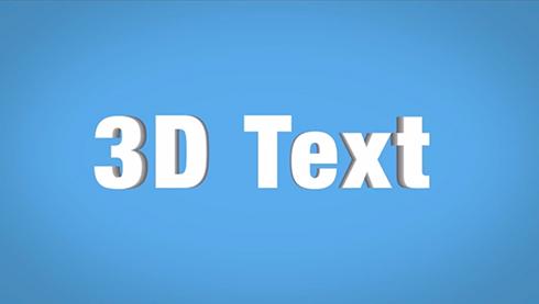 Pseudo Flat 3D