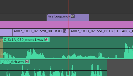 After Effects Timeline