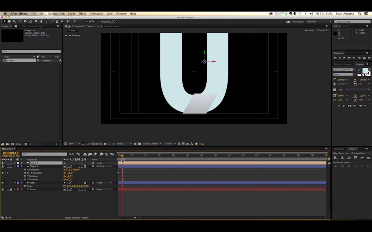 Video Tutorial: Unfolding Animation in Adobe After Effects - The