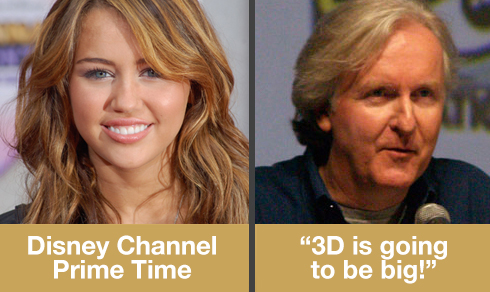 Miley Cyrus - James Cameron