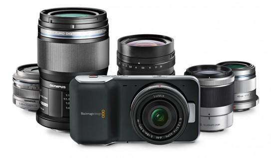 Lens Options for the Blackmagic Pocket Cinema Camera