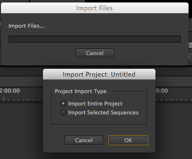 moving timelines between projects