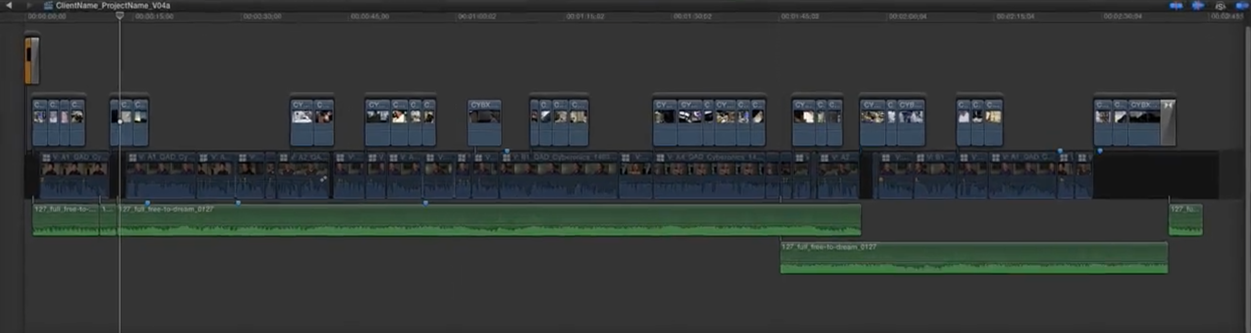 Audio Tracks in Final Cut Pro X